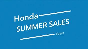 Honda Summer Sales Event TV Spot, 'New Honda Cars' [T2] - Thumbnail 2