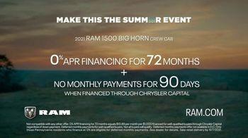 Ram Trucks Make This the Summer Event TV Spot, 'Make This the Summer of Ram' [T2] - Thumbnail 7