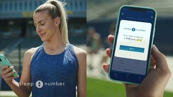Sleep Number Biggest Sale of the Year TV Spot, 'All Smart Beds on Sale: 50% off and Delivery' Ft. Julie Ertz - 196 commercial airings