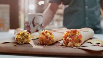 Taco Bell Toasted Breakfast Burritos TV Spot, 'No estás soñando' [Spanish]