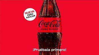 Coca-Cola Zero Sugar TV Spot, 'Mejor sabor' canción de Damian Minckas [Spanish]