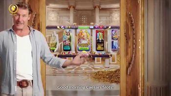 Caesars Slots TV Spot, 'Good Morning' Featuring Ty Pennington