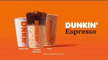 Dunkin' Espresso TV Spot, 'Café a todas horas' [Spanish]