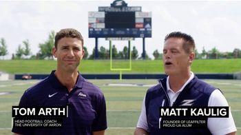 The University of Akron Athletics TV Spot, 'Football Season' Ft. Matt Kaulig, Tom Arth