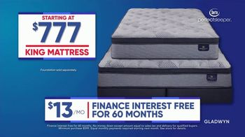 Rooms to Go Labor Day Sale TV Spot, 'King Mattress for Price of a Queen: $777'
