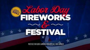 Rivers Casino TV Spot, 'Labor Day Fireworks & Festival'