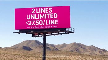 T-Mobile Essentials 55+ TV Spot, 'Built Just for You: Two Lines of Unlimited' - Thumbnail 9