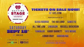 2021 iHeartRadio Music Festival TV Spot, 'Daytime Stage: Olivia Rodrigo, Saweetie and More' - Thumbnail 6