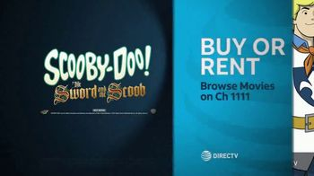 DIRECTV Cinema TV Spot, 'Scooby-Doo! The Sword and the Scoob' Song by Mustard Snorkel - Thumbnail 9