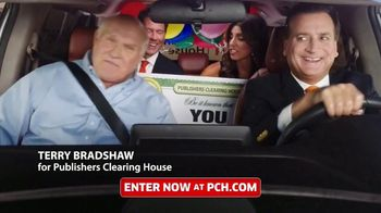 Publishers Clearing House TV Spot, 'Last Chance: $7,000 a Week' Featuring Terry Bradshaw - 2597 commercial airings
