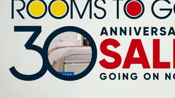 Rooms to Go 30th Anniversary Sale TV Spot, 'Lighted Headboard Bedroom Set: $1,677' Song by Junior Senior - Thumbnail 10