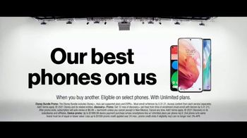 Verizon TV Spot, 'Nobody Has to Settle: The Disney Bundle and Best Phones'