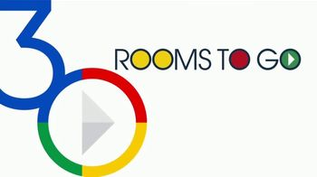 Rooms to Go 30th Anniversary Sale TV Spot, 'Bedroom Set with Storage Footboard: $799' Song by Junior Senior - Thumbnail 2