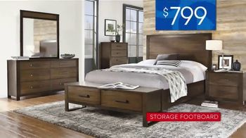 Rooms to Go 30th Anniversary Sale TV Spot, 'Bedroom Set with Storage Footboard: $799' Song by Junior Senior - Thumbnail 6