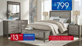 Rooms to Go 30th Anniversary Sale TV Spot, 'Bedroom Set with Storage Footboard: $799' Song by Junior Senior - Thumbnail 9