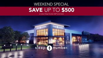 Sleep Number Weekend Special TV Spot, 'Introducing: Save Up to $500' - Thumbnail 8