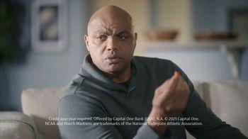 Capital One Savor Card TV Spot, 'Everytime' Ft. Jim Nantz, Samuel L. Jackson, Charles Barkley - Thumbnail 8