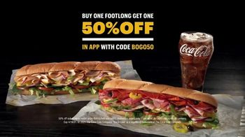 Subway TV Spot, 'You Can Do Better: BOGO 50%' Featuring Tony Hawk - Thumbnail 9