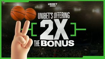 Unibet TV Spot, 'March Madness: Twice the Bonus'