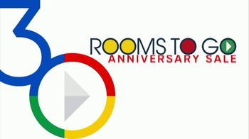 Rooms to Go 30th Anniversary Sale TV Spot, 'Five-Piece Counter Height Table and Stools' Song by Junior Senior - Thumbnail 2