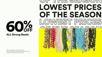 Michaels Lowest Prices of the Season Sale TV Spot, '70% Off Makers Faves' - Thumbnail 5