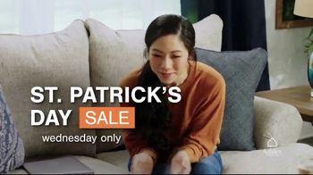 Ashley HomeStore St. Patrick's Day Sale TV Spot, 'Wear Green and Get Ashley Cash' - Thumbnail 3
