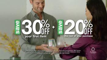 Ashley HomeStore St. Patrick's Day Sale TV Spot, 'Wear Green and Get Ashley Cash' - Thumbnail 6