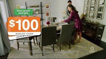 Ashley HomeStore St. Patrick's Day Sale TV Spot, 'Wear Green and Get Ashley Cash' - Thumbnail 8