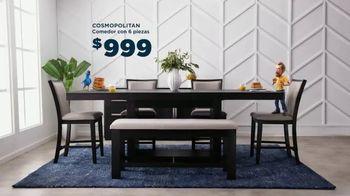 Bob's Discount Furniture 30th Anniversary TV Spot, 'Mis mejores juegos de comedor' [Spanish] - Thumbnail 6
