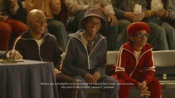 Capital One QuickSilver TV Spot, 'First Time' Ft. Jim Nantz, Samuel L. Jackson, Charles Barkley