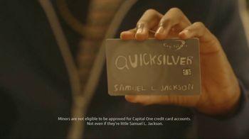 Capital One QuickSilver TV Spot, 'First Time' Ft. Jim Nantz, Samuel L. Jackson, Charles Barkley - Thumbnail 5