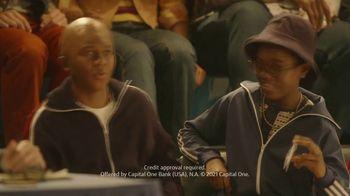 Capital One QuickSilver TV Spot, 'First Time' Ft. Jim Nantz, Samuel L. Jackson, Charles Barkley - Thumbnail 6
