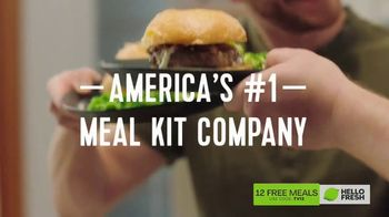 HelloFresh TV Spot, 'Life Hack: 12 Free Meals'