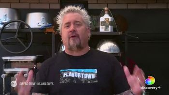 Discovery+ TV Spot, 'Diners Drive-Ins and Dives' - 13 commercial airings
