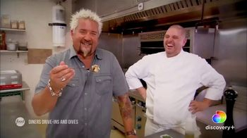 Discovery+ TV Spot, 'Diners Drive-Ins and Dives' - Thumbnail 6
