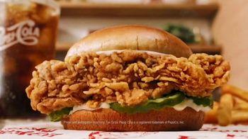 KFC Chicken Sandwich TV Spot, 'Chicken Business'