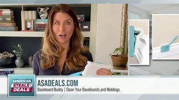 America's Steals & Deals TV Spot, 'Baseboard Buddy' Featuring Genevieve Gorder - Thumbnail 9