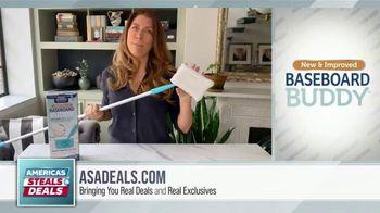 America's Steals & Deals TV Spot, 'Baseboard Buddy' Featuring Genevieve Gorder - Thumbnail 2