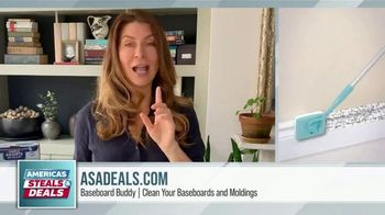 America's Steals & Deals TV Spot, 'Baseboard Buddy' Featuring Genevieve Gorder - Thumbnail 3