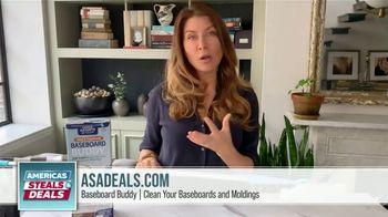 America's Steals & Deals TV Spot, 'Baseboard Buddy' Featuring Genevieve Gorder - Thumbnail 4