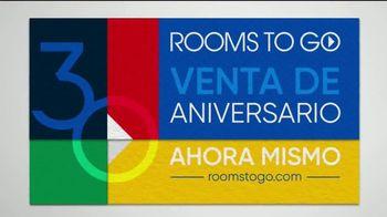 Rooms to Go Venta del 30 Aniversario TV Spot, 'Dormitorio con almacenamiento' canción de Junior Senior [Spanish] - Thumbnail 6