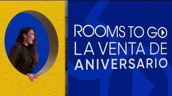 Rooms to Go Venta del 30 Aniversario TV Spot, 'Dormitorio con almacenamiento' canción de Junior Senior [Spanish] - Thumbnail 2