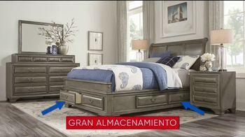 Rooms to Go Venta del 30 Aniversario TV Spot, 'Dormitorio con almacenamiento' canción de Junior Senior [Spanish] - Thumbnail 4