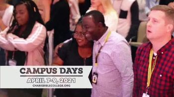 Charis Bible College TV Spot, '2021 Campus Days' - Thumbnail 5