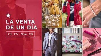 Macy's La Venta de Un Día TV Spot, 'Joyas de diamante, zapatos y estilos para él' [Spanish] - Thumbnail 2