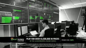DraftKings Casino TV Spot, 'Mobile Casino App: Leaderboard Legends Series' - Thumbnail 3