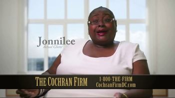 The Cochran Law Firm TV Spot, 'Getting What You Deserve: Real Clients' - Thumbnail 1
