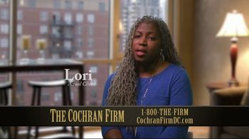 The Cochran Law Firm TV Spot, 'Getting What You Deserve: Real Clients' - Thumbnail 2