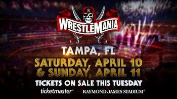 WWE TV Spot, 'Wrestlemania 37' - Thumbnail 8