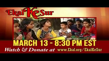 Ekal Vidyalaya Foundation TV Spot, 'Free Virtual Concert'